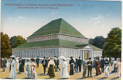 Ansichtskarte zur Internationalen Hygieneausstellung in Dresden 1911