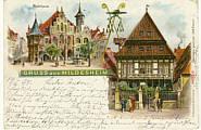 Ansichtskarte Kairo 1898 - Kaiserfeier