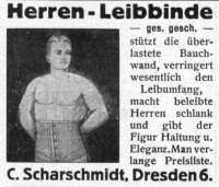 Herren-Leibbinde