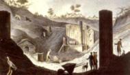 Ausgrabung des Isis-Tempels in Pompeji