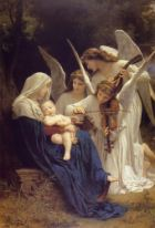 Lied der Engel - Bild von William-Adolphe Bouguereau (1825-1905)