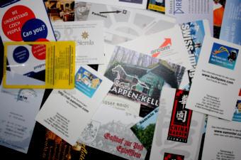 Visitenkarten Sammeln Für Sammler Von Visitenkarten